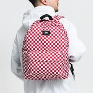 Vans MN Old Skool III Backpack červený / bílý