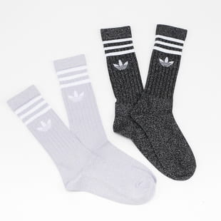 adidas Originals Full Glitter Crew Socks 2Pack