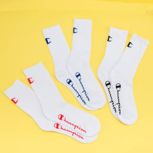 Champion 3Pack Colored Logo Socks