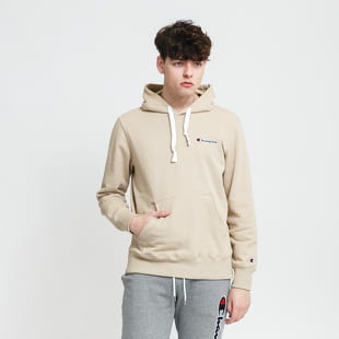 Champion Heavy Cotton Mini Logo Hoodie