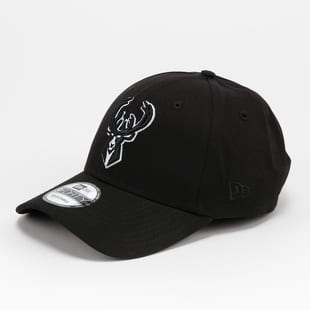 New Era 940 NBA Black Base Milwaukee Bucks