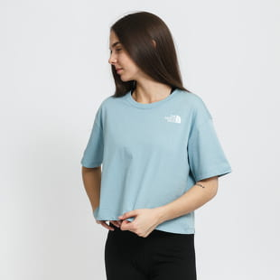 The North Face W Cropped Simple Dome Tee