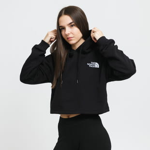 The North Face W Logo Cropped DRP Hoodie