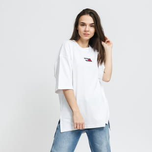 Tommy Hilfiger W Oversized Badge Slit Tee