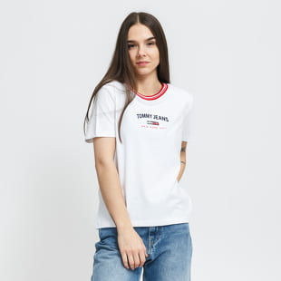TOMMY JEANS W Regular Timeless Script Tee