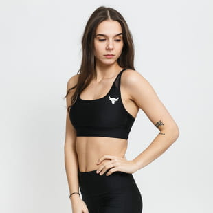 Under Armour W Project Rock X-Back Mid Bra