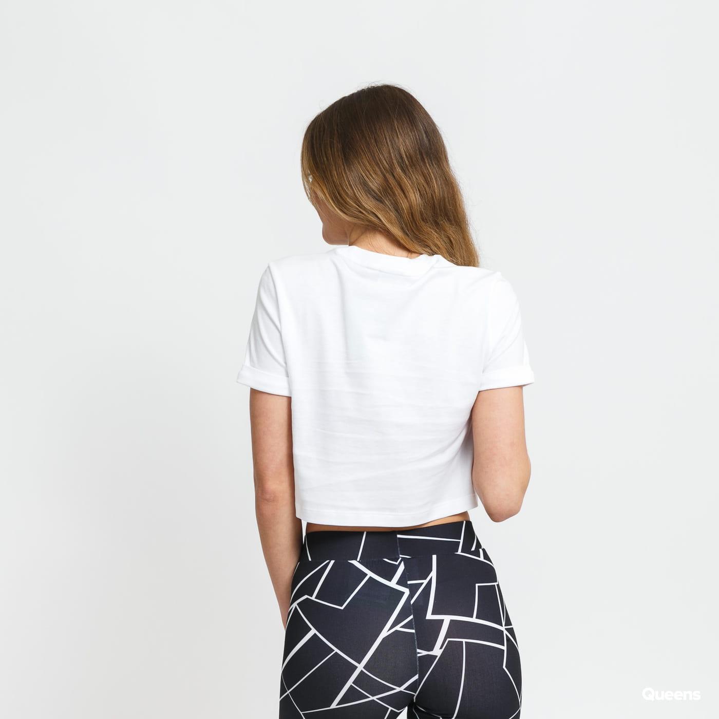 adidas Originals Crop Top bílé
