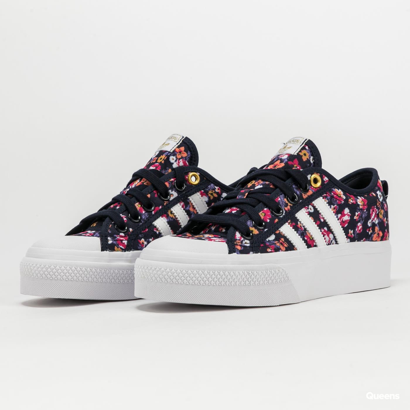 adidas Originals Nizza Platform W legink / ftwwht / goldmt