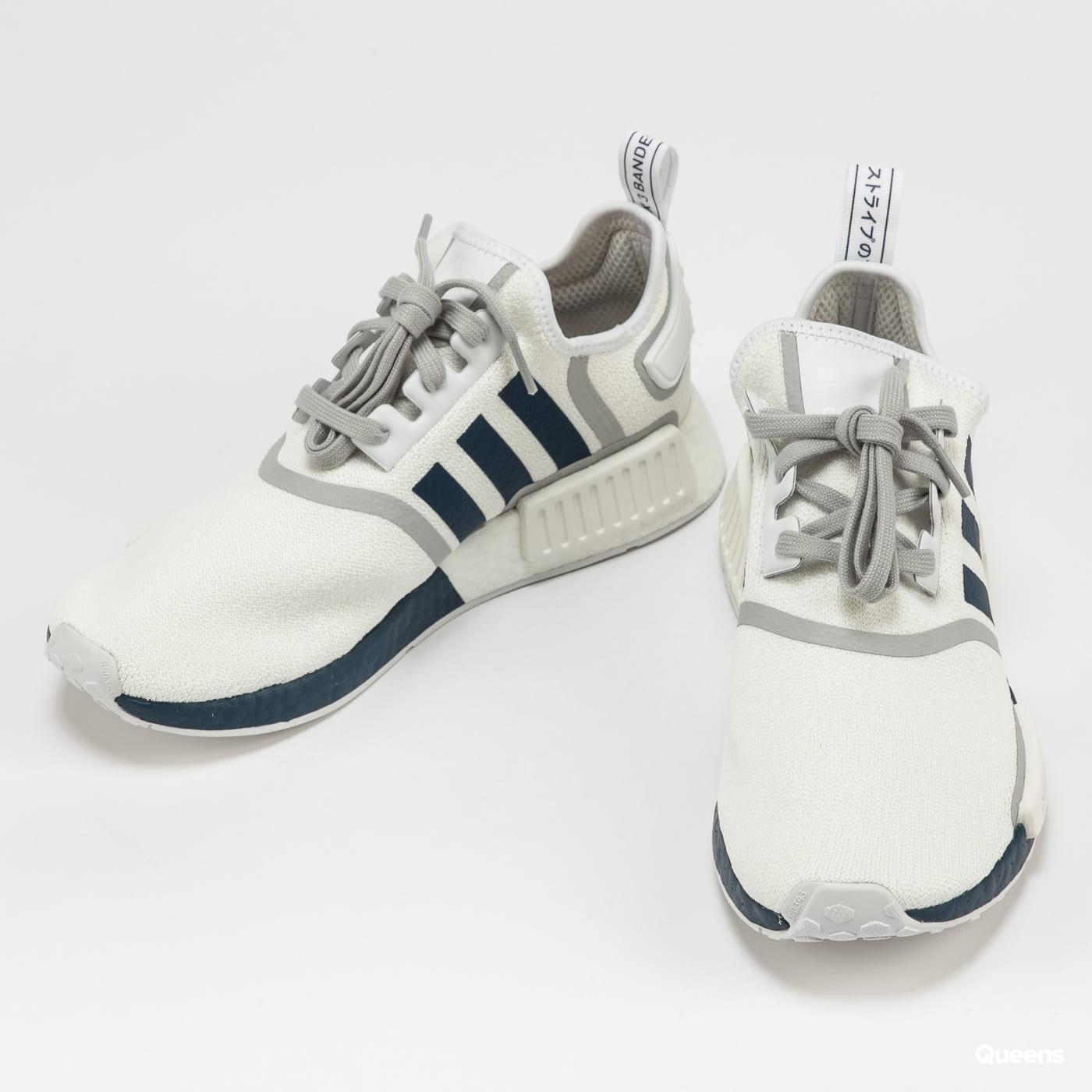 adidas Originals NMD_R1 cloud white / crew navy