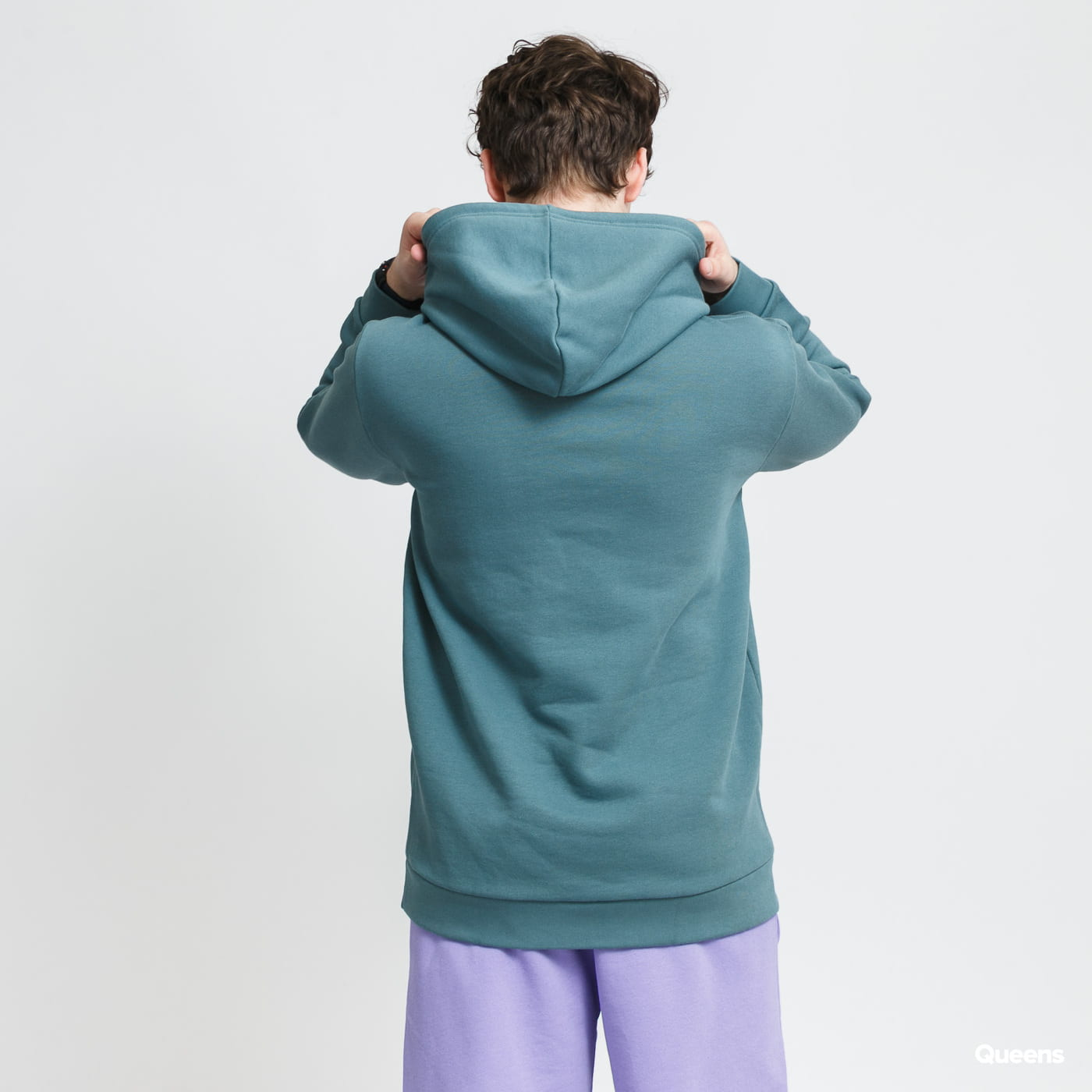 adidas Originals Trefoil Hoodie zelená