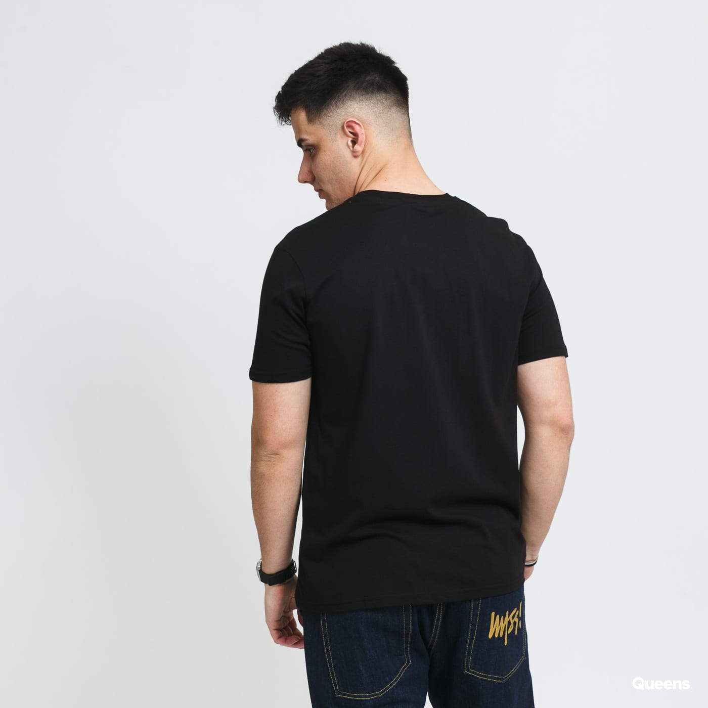Alpha Industries Rodger Dodger Tee black stone washed no length