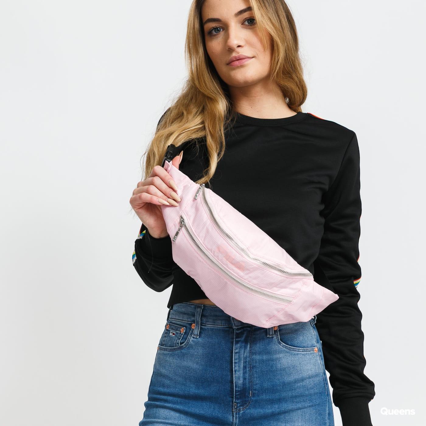 Fila Waist Bag Light Ripstop Double Zipper pink