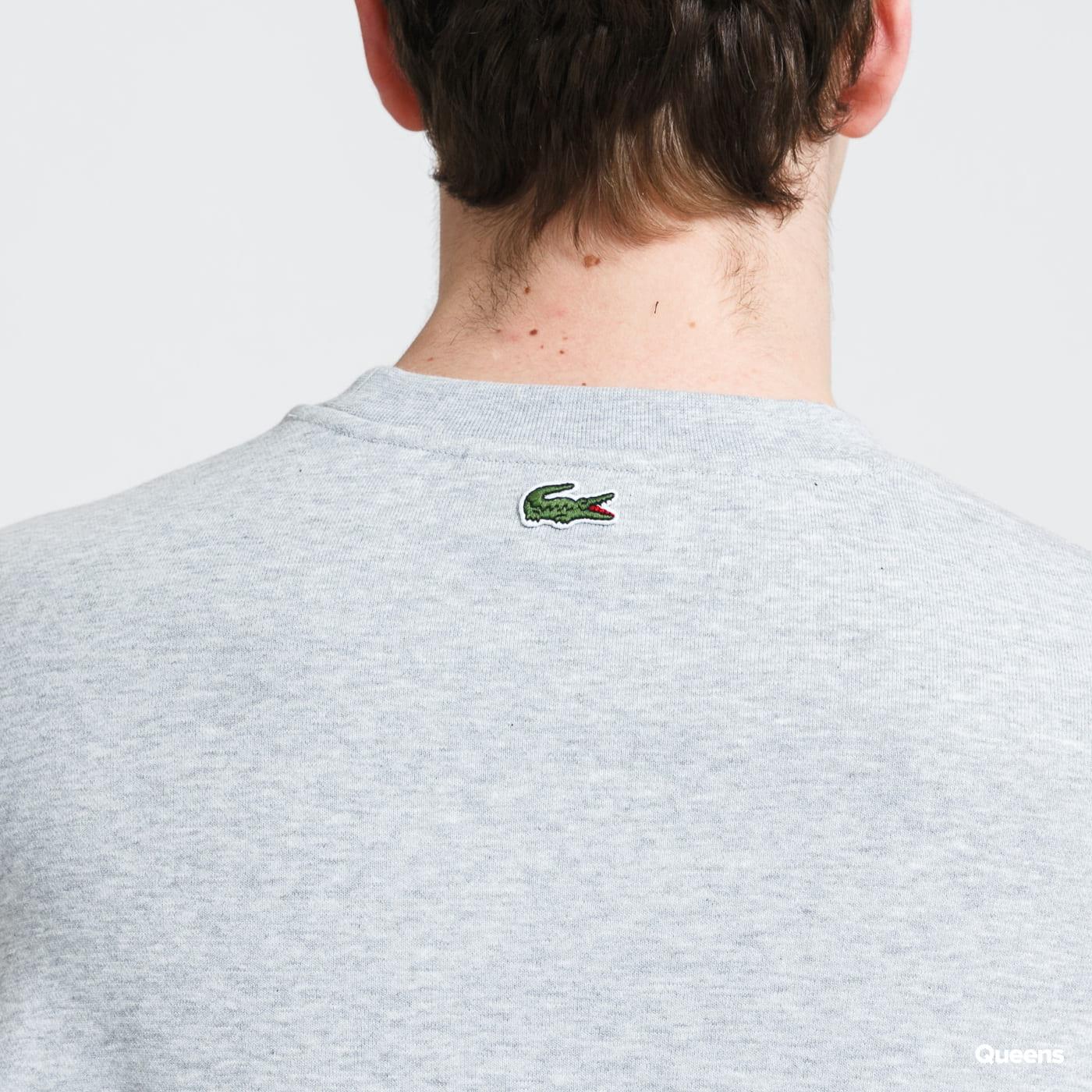 LACOSTE Men's Sweatshirt melange gray