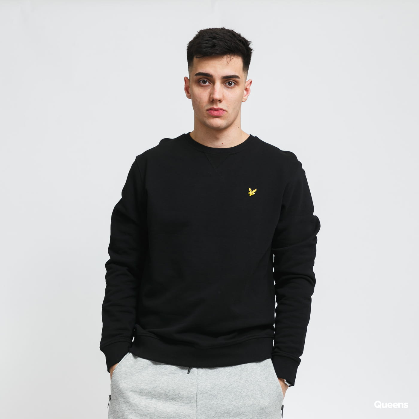 Lyle & Scott Crew Neck Sweatshirt gray / beige / pink / black