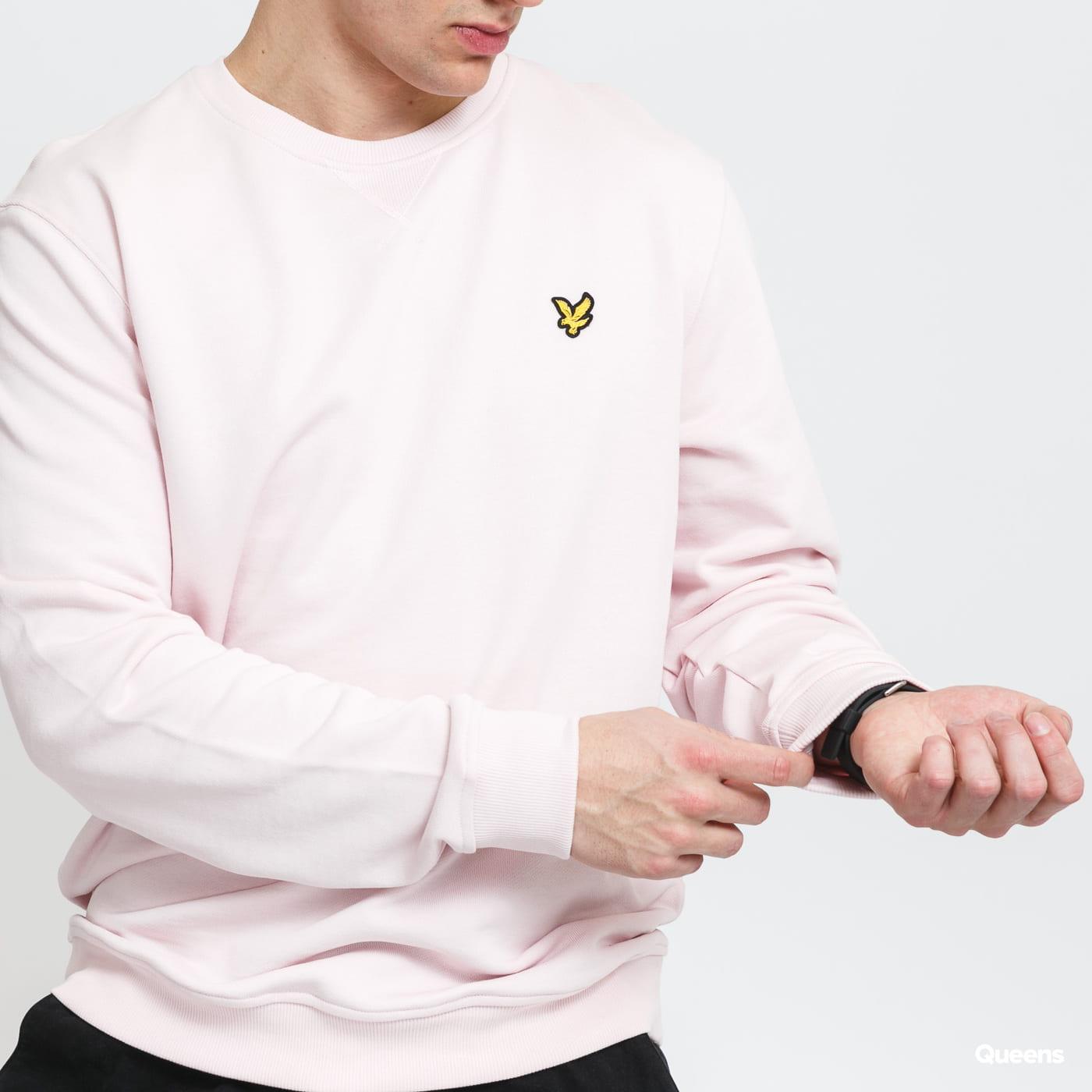Lyle & Scott Crew Neck Sweatshirt light pink