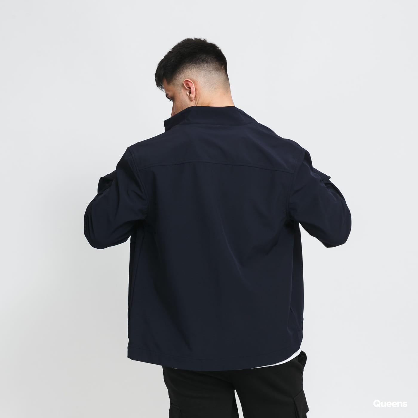 Lyle & Scott Funnel Neck Softshell Jacket blue / turquoise