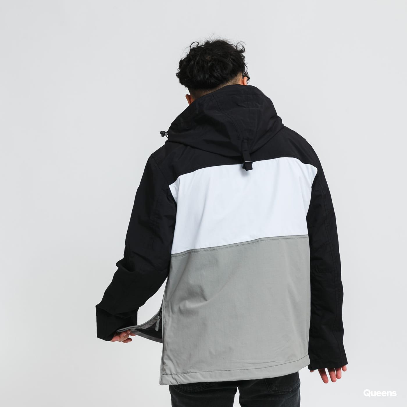 NAPAPIJRI Rainforest S Block 1 Jacket black / grey / white
