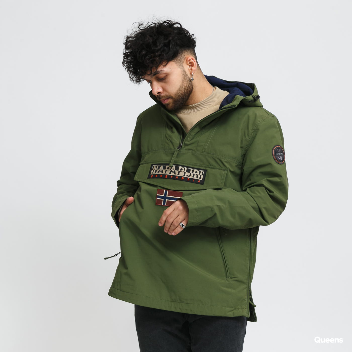 NAPAPIJRI Rainforest S Pocket 2 Jacket olive