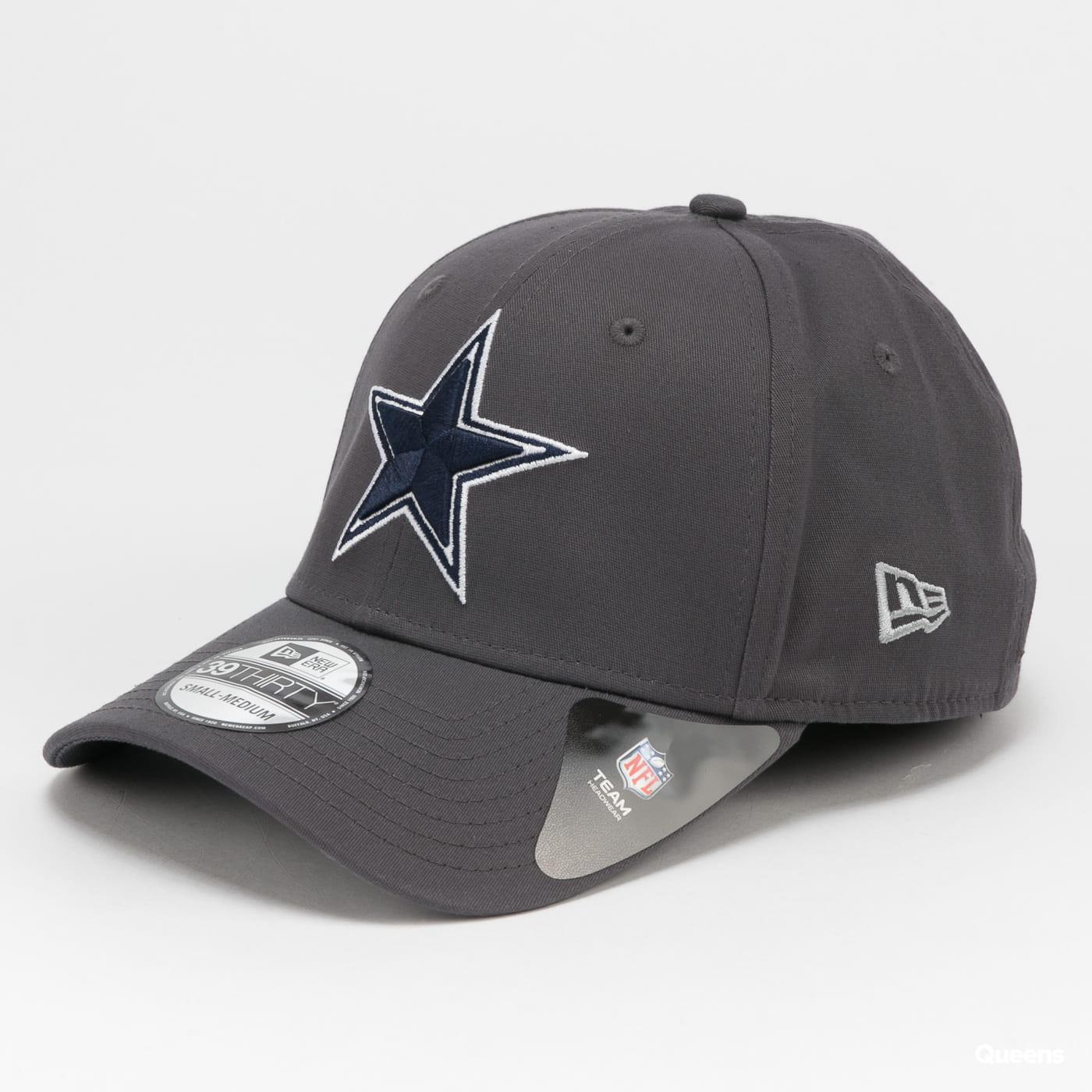 New Era 3930 NFL Team Dallas Cowboys tmavě šedá