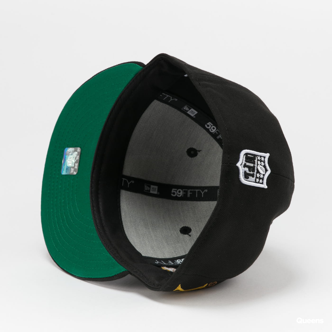 New Era 5950 NFL Retro Sports Raiders black / green