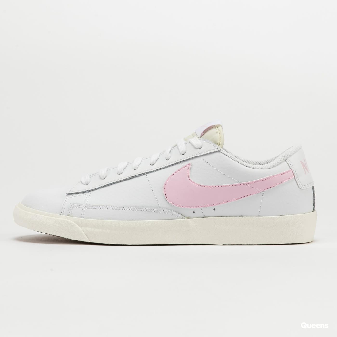 Nike Blazer Low Leather white / pink foam - sail