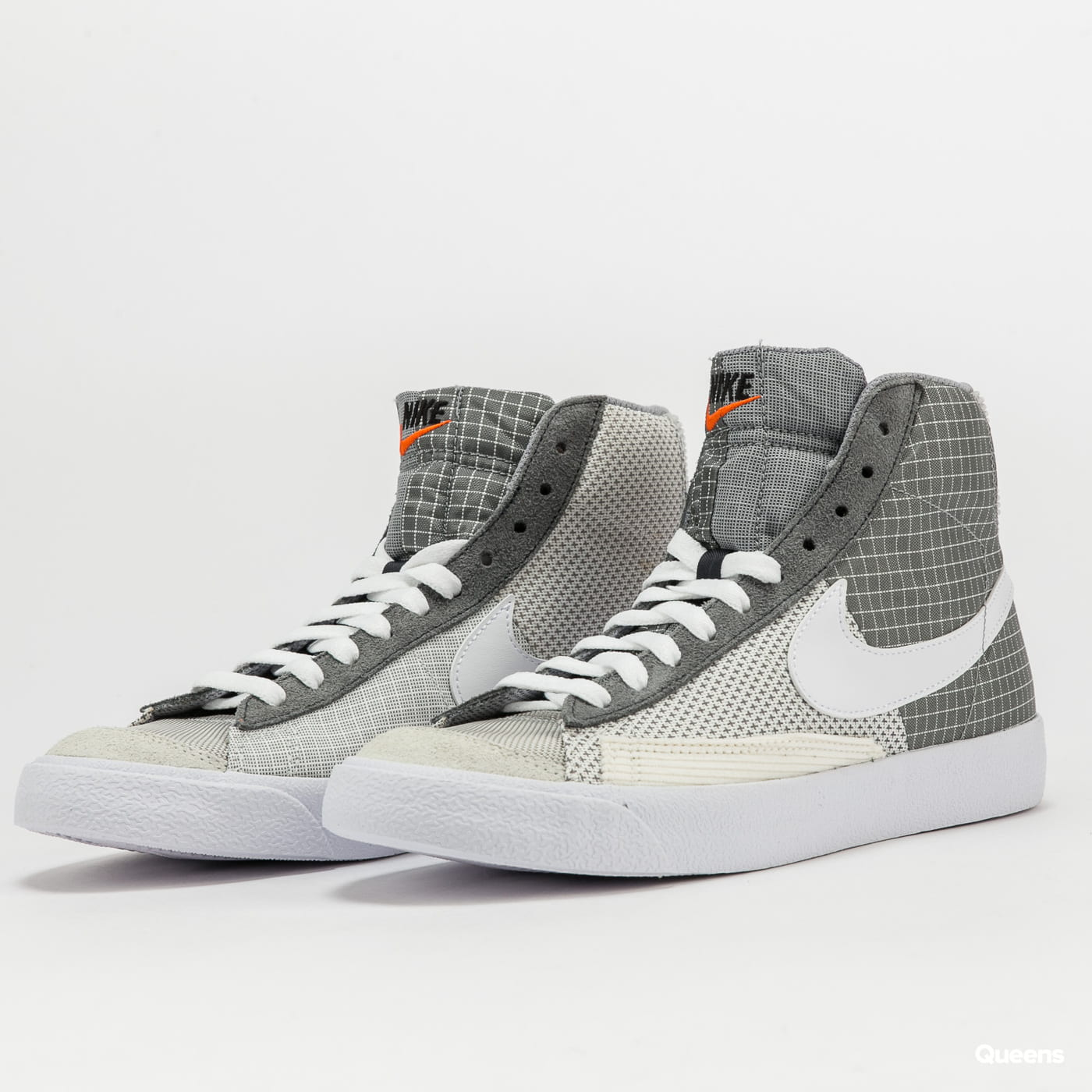 Nike Blazer Mid '77 smoke grey / white - particle grey