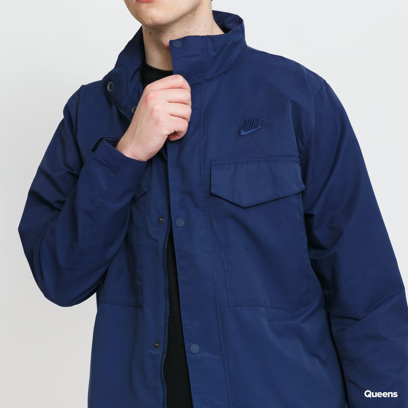Nike M NSW SPE Woven UL M65 Jacket blue / turquoise