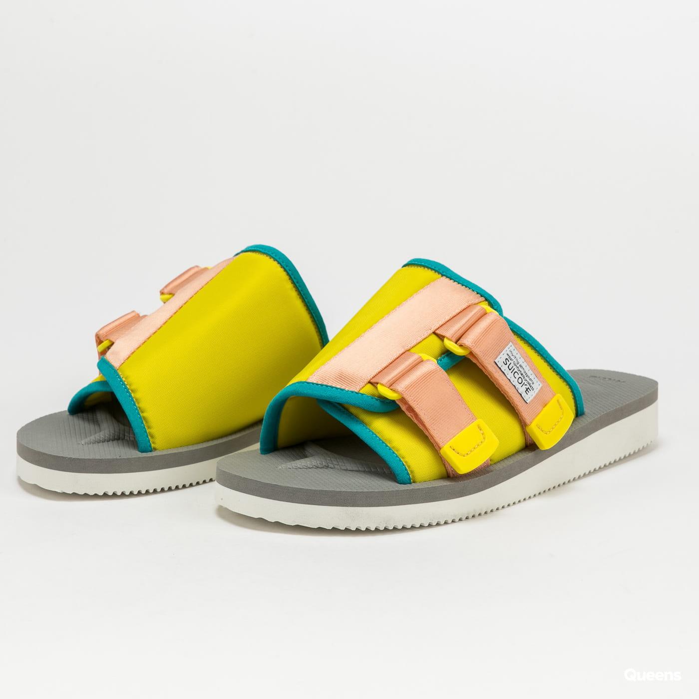 SUICOKE KAW-Cab yellow / gray