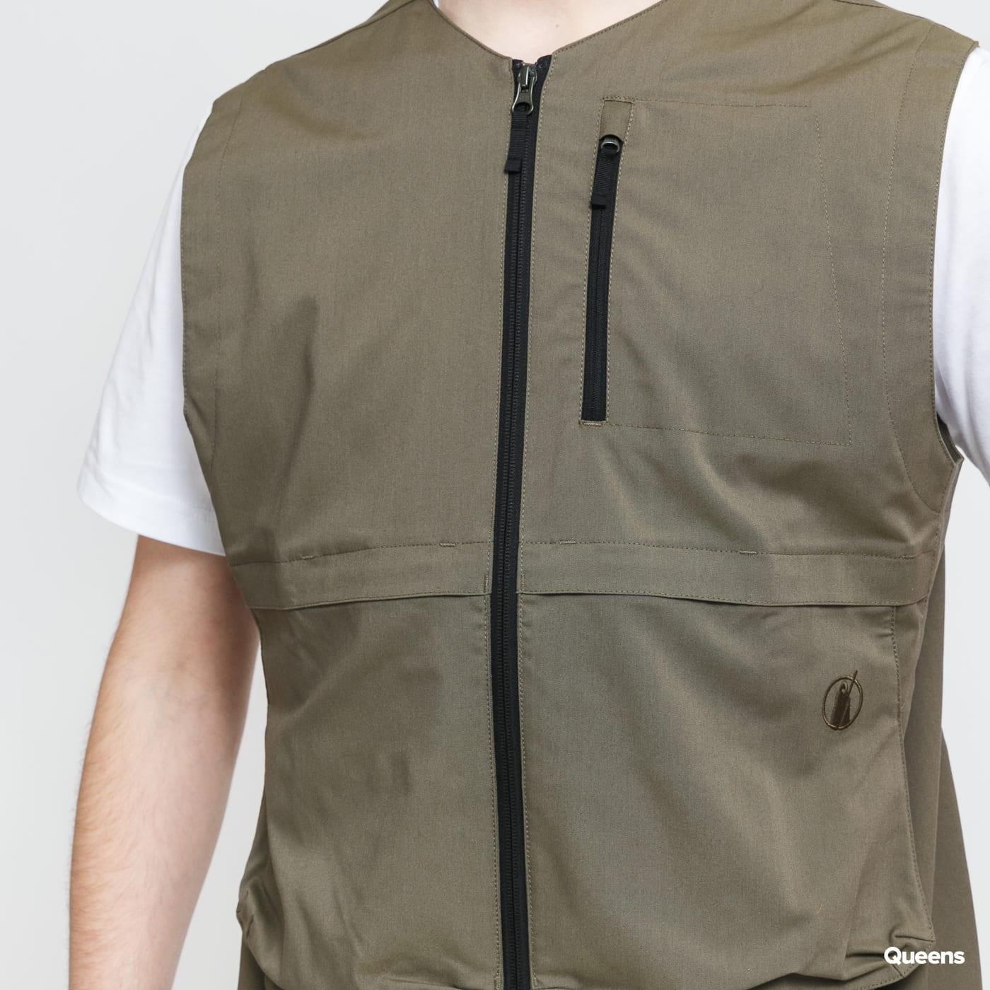 POUTNIK BY TILAK Blade Vest olivová