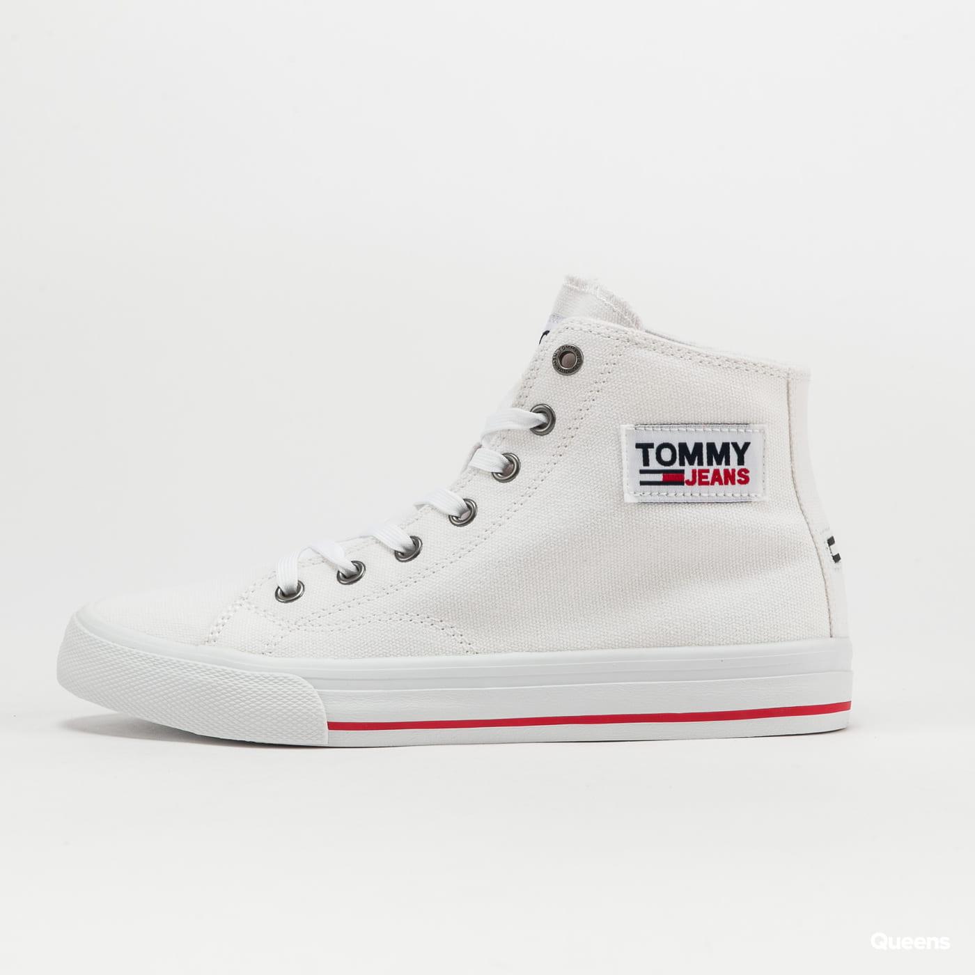 TOMMY JEANS Tommy Jeans Midcut Vulc wht