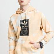 adidas Originals Camo AOP Hoodie krémová / oranžová / světle hnědá