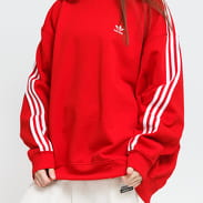 adidas Originals Oversized Sweatshirt červená