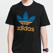 adidas Originals Trefoil Ombre Tee černé