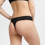 Calvin Klein String Thong černé