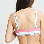 Calvin Klein Unlined Bralette Crossback růžové