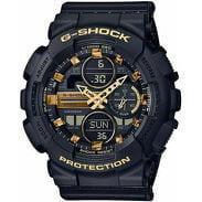 "Casio G-Shock GMA S140M-1AER ""Metallic Markers and Accents"" černé / zlaté"