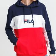 Fila Men Analu Blocked Hoody navy / red / white