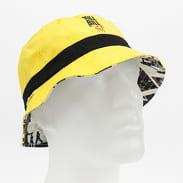 HUF Kill Bill Reversible Bucket yellow / black / white