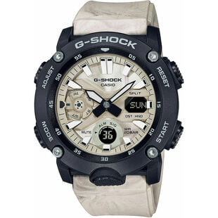 "Casio G-Shock GA 2000WM-1AER ""Carbon Core Guard Utility Wavy Marble Series"""