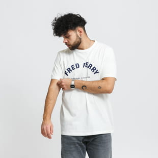 FRED PERRY Arch Branded Tee