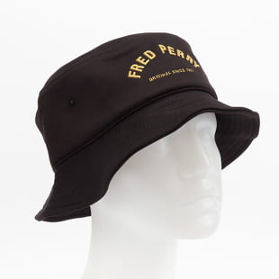 FRED PERRY Arch Branded Tricot Bucket Hat