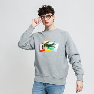 LACOSTE Lacoste LIVE x Polaroid Loose Fit Sweatshirt