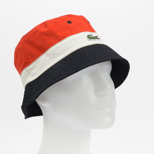 LACOSTE Lightweight Reversible Colourblock Bob