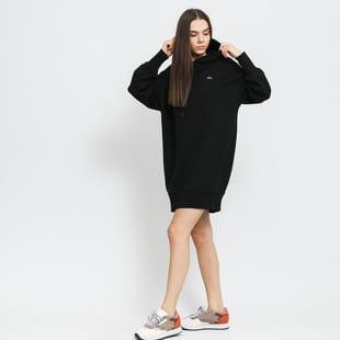 LACOSTE Women's Lacoste LIVE Hooded Oversized Sweatshirt Dress