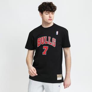 Mitchell & Ness NBA Name & Number Tee - Kukoc #7 Chicago Bulls
