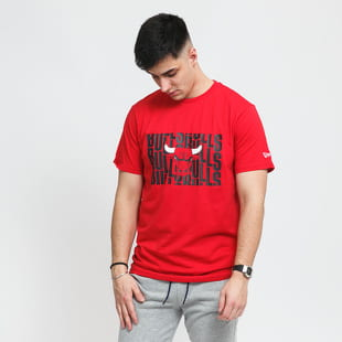 New Era Wordmark Repeat Tee Chucago Bulls