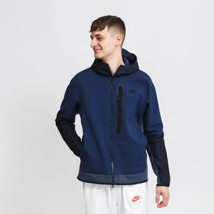 Nike M NSW Tech Fleece FZ Woven Hoodie Mix
