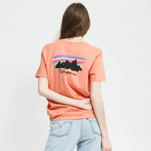 Patagonia W's Free Hand Fitz Roy Organic Crew T-Shirt