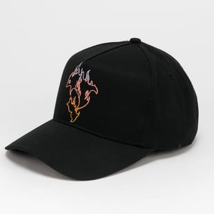 Pink Dolphin Spectra Flame Snapback