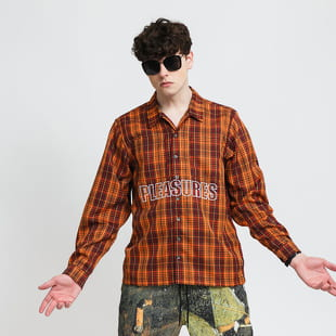 PLEASURES Shade Plaid Work Shirt